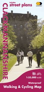 Harvey Cycle Map - Clackmannanshire - Walking and Cycling