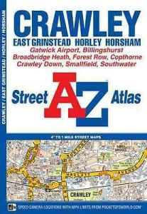A-Z Street Atlas - Crawley