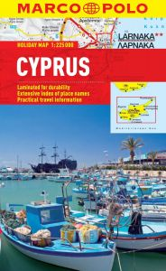 Cyprus Marco Polo Holiday Map
