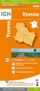 IGN Departmental - Yonne (D89)