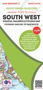 The Little Map Company - Route Finder - Dawlish To Dartmouth