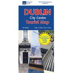 OS Dublin City Centre Tourist Map