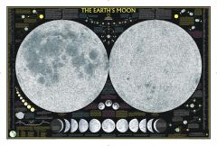 Earth's Moon Map