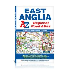 A-Z Regional Road Atlas - East Anglia