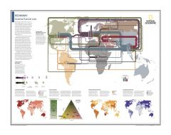 Economy: Straining Financial Links - Atlas of the World, 10th Edition Map