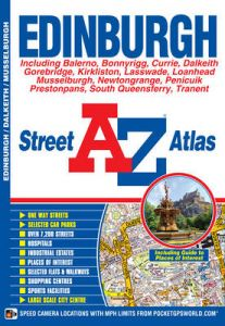 A-Z Street Atlas - Edinburgh