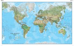 Environmental World Wall Map