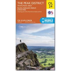 OS Explorer Leisure - OL24 - The Peak District, White Peak