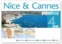 Popout Maps - Nice & Cannes