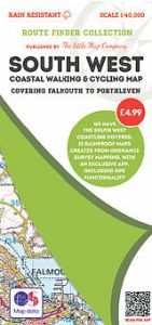 The Little Map Company - Route Finder - Falmouth To Porthleven