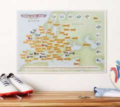 Europe Football Stadiums Collect & Scratch