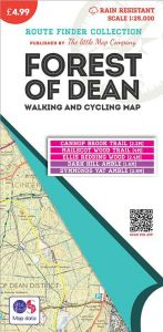 The Little Map Company - Route Finder - Forest Of Dean