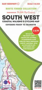 The Little Map Company - Route Finder - Fowey To Falmouth