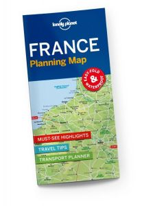 Lonely Planet - Planning Map - France