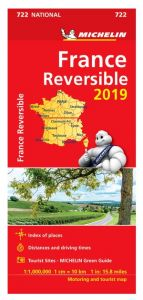 Michelin National Map - 722-France (Reversible)
