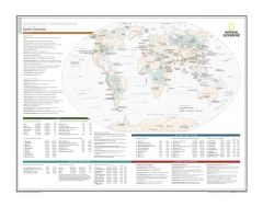 Geographic Comparisons: Earth's Extremes - Atlas of the World, 10th Edition Map