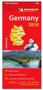 Michelin National Map - 718-Germany