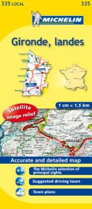 Michelin Local Map - 335-Gironde, Landes