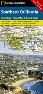 National Geographic - State Guide Map - California Southern