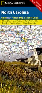 National Geographic - State Guide Map - Carolina North