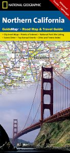 National Geographic - State Guide Map - California Northern