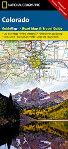 National Geographic - State Guide Map - Colorado