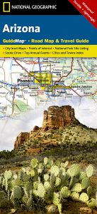 National Geographic - State Guide Map - Arizona