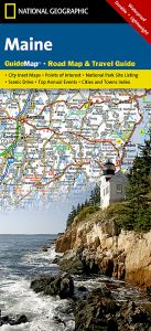 National Geographic - State Guide Map - Maine