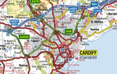 Great Britain A-Z Road Map