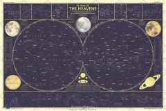 Heavens - Published 1957 Map