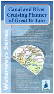 Heron Waterway Map - Canal And River Cruising Planner Of Great Britain