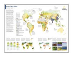 Human Influences: Into a New Epoch? - Atlas of the World, 10th Edition Map