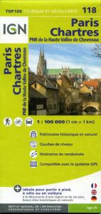 IGN Top 100 - Paris / Chartres / PNR Haute Vallee de Chevreuse