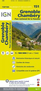 IGN Top 100 - Grenoble / Bourg-St-Maurice PN Vanoise