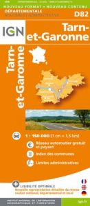 IGN Departmental - Tarn-et-Garonne (D82)