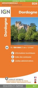 IGN Departmental - Dordogne - D24
