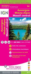 IGN Regional - Auvergne - Rhone-Alpes - Massif Central