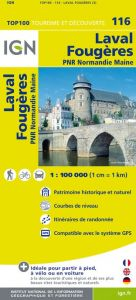 IGN Top 100 - Laval / Fougeres / PNR Normandie Maine