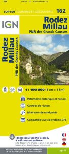 IGN Top 100 - Rodez / Millau / PNR des Grands Causses