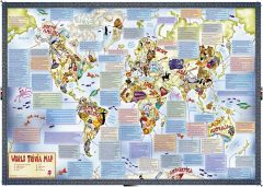 Illustrated Trivia World Map
