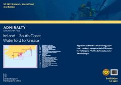 Admiralty Leisure Chart Folio - Ireland - South Coast
