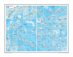 Islands of the Pacific - Atlas of the World, 10th Edition Map