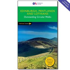 OS Crimson Pathfinder Guide - Edinburgh & the Lothians