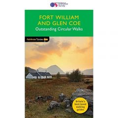 OS Crimson Pathfinder Guide - Fort William & Glen Coe