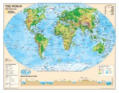 Kids Physical World Education: Grades 4-12 Map