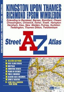 A-Z Street Atlas - Kingston upon Thames & Richmond