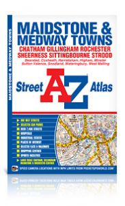 A-Z Street Atlas - Maidstone & Medway Towns