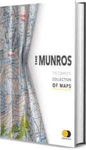 Harvey - The Munros, The Complete Collection Of Maps (Hardback Book)