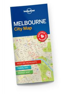 Lonely Planet - City Map - Melbourne