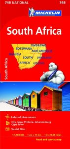Michelin National Map - 748 - South Africa